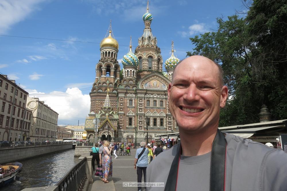 Andrew in St. Petersburg